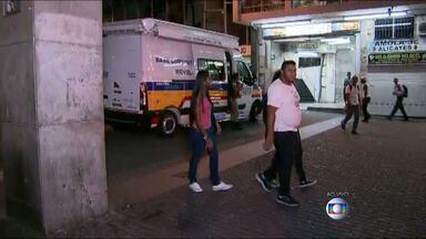 PM promete reforçar segurança na Praça Sete, em BH - Local virou reduto de tráfico e venda de produtos ilícitos