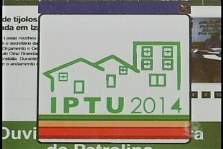 Donos de imóveis de Petrolina tem até o próximo dia 30 para pagar o IPTU com desconto - A novidade deste ano é que a impressão do boleto de pagamento pode ser feita diretamente pela internet.