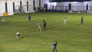 Confiança vence o Coritiba-SE: 3 a 0 - Jogo aconteceu no Sabino Ribeiro. Everton, Geraldo e Kível marcaram para o time proletário.