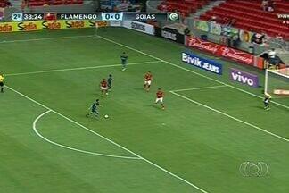 Times goianos empatam na primeira rodada do Campeonato Brasileiro - O Goiás enfrentou o Flamengo no Estádio Mané Garrincha, em Brasília. Já o Atlético jogou contra o Boa, em Varginha (MG).