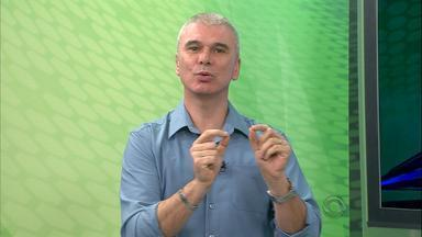 """Maurício Saraiva diz que Enderson está em """"crise de confiança"""" - Assista ao vídeo."""