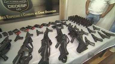 Armas levadas de Central de Escoltas são recuperadas - Armas levadas de Central de Escoltas são recuperadas
