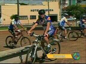 Ainda dá tempo de participar do passeio ciclístico em Umuarama - E você concorre a brindes se fizer a inscrição com antecedência.