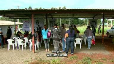 Ação atende família de presos em Foz - Ação está sendo realizada pelo Patronato
