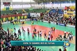 Vitória do time de Cabrobó sobre o Juazeiro Futsal na final da Copa TV Grande Rio - Decisão aconteceu no pênaltis