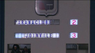 Paraná estreia em casa pela Série B do Brasileiro, mas não segura o Joinville - Paraná estreia em casa pela Série B do Brasileiro, mas não segura o Joinville