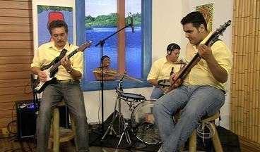 Palco: Confira o som da banda Bem Brasil - Palco: Confira o som da banda Bem Brasil