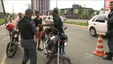 Motos são veículos mais roubados em São Luís - Motos são veículos mais roubados