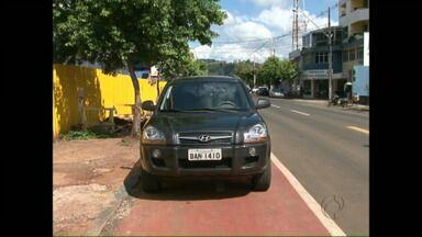 Motoristas não respeitam ciclofaixa em Francisco Beltrão - Quem comete irregularidade está sendo multado