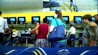 Aeroporto de Viracopos vai ficar diferente para a Copa do Mundo - Em Campinas, o aeroporto de Viracopos aumentou a capacidade de atendimento, que pode receber ainda 10 milhões de passageiros por ano. Mas ele será ainda mais expandido até a Copa.