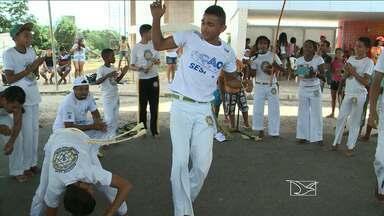Milhares de pessoas participam da 21ª edição do Ação Global em São Luís - Milhares de pessoas participam da 21ª edição do Ação Global em São Luís