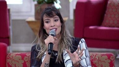 Flávia Rubim já foi casada e hoje mora junto com o namorado - Atriz sonha em acrescentar o nome dele
