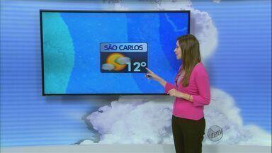 Confira a previsão do tempo para a região de São Carlos, SP, neste sábado (3) - Confira a previsão do tempo para a região de São Carlos, SP, neste sábado (3).