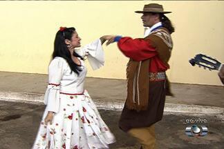 Goiânia sedia feira de música, dança e comidas típicas da região Sul - Uma feira sobre música, dança e comidas típicas do Sul do Brasil está sendo realizada no Goiânia Arena.