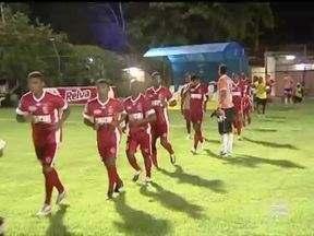 Jogadores do 4 de Julho se preparam para superar o Flamengo-PI - Jogadores do 4 de Julho se preparam para superar o Flamengo-PI