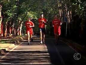 Militares do Corpo de Bombeiros de Uberaba participam de corrida em Uberlândia - Atletas participam do Circuito das Corridas neste sábado