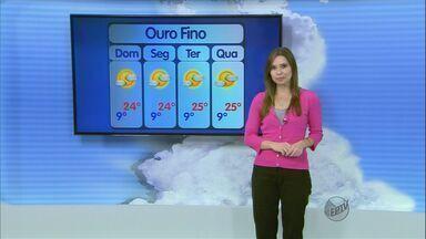 Confira a previsão do tempo no Sul de Minas para este domingo (4) - Confira a previsão do tempo no Sul de Minas para este domingo (4)