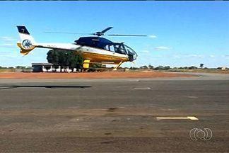 Cinegrafista amador registrou helicóptero da PRF antes de pouso forçado - Um cinegrafista amador registrou o voo do helicóptero da Polícia Rodoviária Federal, momentos antes de um pouso forçado em Luziânia. O laudo com as causas do acidente não tem prazo para ser concluído.