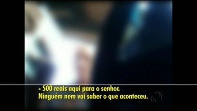 Homem que oferece propina a Policial Rodoviário é preso no Oeste do Estado - O motorista foi parado numa blitz e estava irregular.
