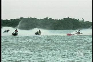 Orla de Petrolina sedia etapa de campeonato de motos aquáticas - Os ganhadores somaram pontos para a próxima etapa que acontece em julho.