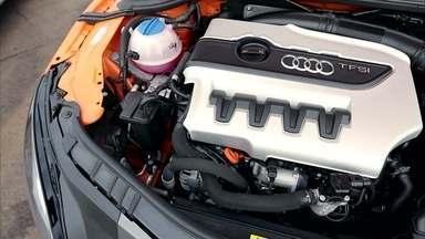 Carros diferentes podem ter o mesmo motor - Um único motor pode servir para carros de vários segmentos e até de marcas diferentes, como o do Golf GTI, que é o mesmo do Audi TTS.