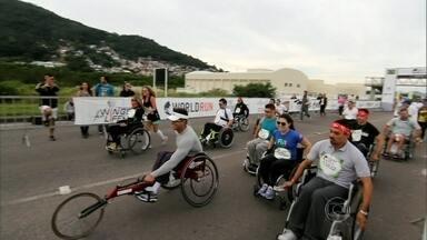 Encontro acompanha a 'Wings For Life World Run' em Florianópolis - A corrida aconteceu em diversos lugares do mundo e reuniu cerca de 35 mil atletas