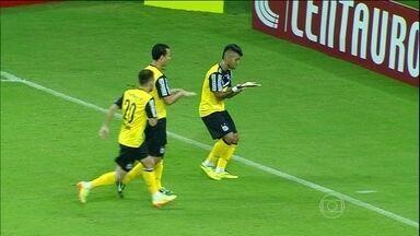 Confira os gols pela Copa do Brasil nesta quinta-feira (8) - Na Grande São Paulo, Celsinho marcou duas vezes e o Londrina empatou com o Barueri em 3 a 3. O resultado classificou o time catarinense para a próxima fase. Na Arena da Amazônia, o Santos venceu Princesa do Solimões por 2 a 1.
