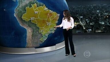 Domingo (11) será de frio no Sul, Sudeste e Centro-Oeste - As temperaturas ficam baixas no Sul, Sudeste e no Centro-Oeste. Não deve passar de 20ºC em São Paulo.