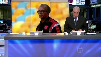 Técnico Jayme de Almeida é demitido do Flamengo - A demissão veio no dia seguinte à derrota por 2 X 0 para o Fluminense. Nos oito meses à frente do clube, Jayme conquistou a Copa do Brasil no ano passado e o Campeonato Carioca deste ano.