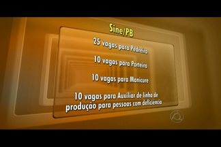 Sine oferece cerca de 400 vagas de emprego na Paraíba - Saiba quais os cargos com oportunidades e como concorrer a estas vagas.