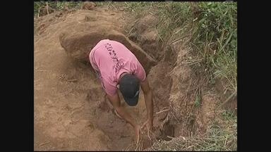 Agricultor que estava caçando tatu morreu ao ser atingido por pedra em Bom Conselho - Amigos que estavam com ele contam como tudo aconteceu.