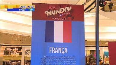 """Evento leva ao público as tradições de países que jogam Copa do Mundo no RS - """"Culturas do Mundo"""" acontece no shopping Iguatemi, em Porto Alegre."""