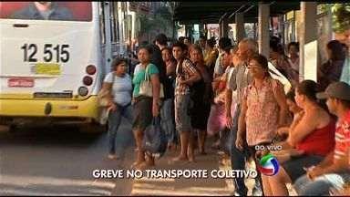 Greve de motoristas de ônibus entra no segundo dia em Cuiabá - Greve de motoristas de ônibus entra no segundo dia em Cuiabá.