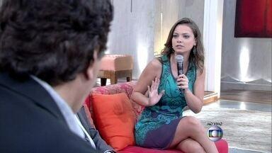 Milena Toscano diz que mulheres também são machistas - 'São feministas quando convém', explica atriz