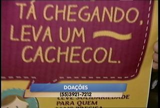Campanha do Agasalho começa hoje em Santa Maria (RS) - A campanha arrecada roupas de inverno.