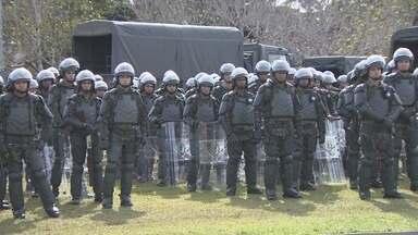 Exército estará de prontidão para atuar na Copa, em Manaus - Se for preciso, forças armadas podem atuar durante o evento; 450 homens estarão disponíveis.