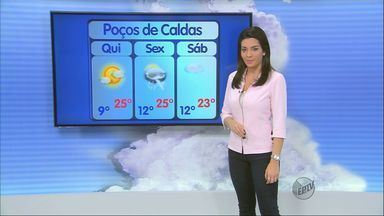 Confira a previsão do tempo no Sul de Minas para esta quinta-feira (22) - Confira a previsão do tempo no Sul de Minas para esta quinta-feira (22)
