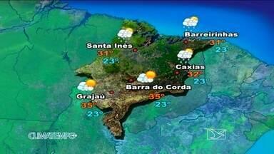 Veja como fica a previsão do tempo para esta quinta-feira (22) - Nuvens carregadas que chegam do mar provocam chuva, a partir de agora a tarde, no norte do Maranhão.