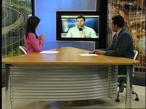 Ronaldo Nascimento fala sobre o que está acontecendo com o 'Azulão'. - Estúdio