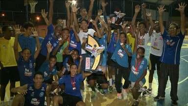 Barbosa de Godóis conquista a Copa Guerreiros de handebol - Equipe maranhense representou o Estado no torneio realizado em Alagoas
