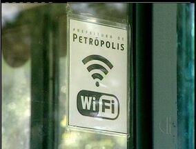 Prefeitura de Petrópolis, RJ, quer ampliar cobertura de internet de graça na cidade - Cidade tem vários pontos de internet sem fio grátis.