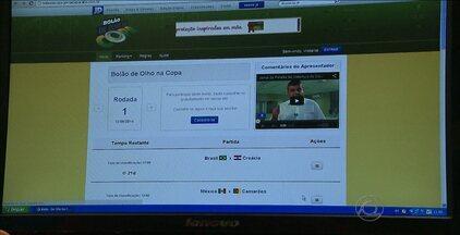 """Participe do Bolão De Olho na Copa - Jornal da Paraíba e CBN promovem as apostas no hotsite """"De Olho na Copa"""". Participantes concorrem a vários prêmios."""