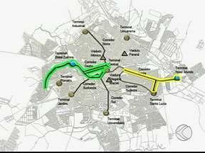 Prefeitura de Uberlândia apresenta projeto de expansão dos corredores de ônibus - Ao todo serão 89 estações.Investimento ultrapassa R$ 130 milhões.
