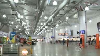 Obras de ampliação do aeroporto de São Luís estão paradas desde o mês passado - Apenas 15% do planejado foram executados em um ano.