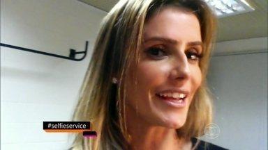 Deborah Secco pede cena de Darlene em Celebridade - Veja momento da atriz na novela de Gilberto Braga