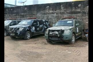 Caminhonetes da Força Nacional estão abandonadas em São Félix do Xingu - Veículos estão há mais de um ano no pátio da prefeitura.