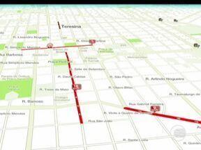 Confira informações sobre o trânsito no Mapa da Velocidade - Confira informações sobre o trânsito no Mapa da Velocidade