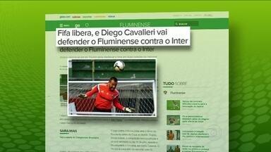 Diego Cavalieri é liberado pela Fifa para atuar contra o Internacional, pelo Brasileirão - Fluminense recorreu à entidade, e teve pedido aceito.
