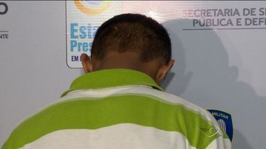 Adolescente que confessou ter matado mulher dentro de loja é preso no ES - Ele se apresentou à polícia na quinta-feira.