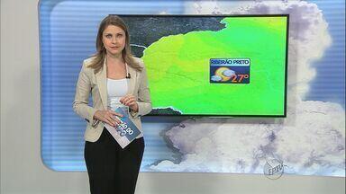 Confira a previsão do tempo nesta sexta-feira (30) em Ribeirão Preto, SP, e região - Em Ribeirão, a temperatura máxima é de 27ºC.